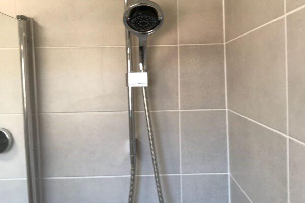Chrome Shower Installed