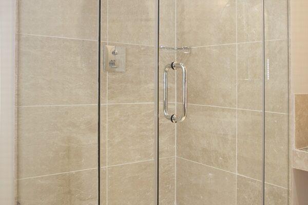 Modern Shower Installed
