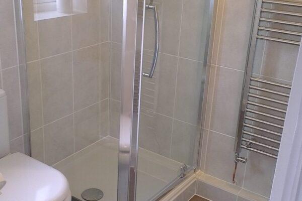 Shower Installed