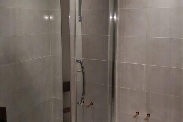 Shower Block Installed