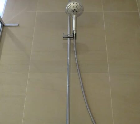 Double Shower Installed