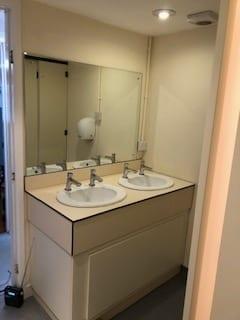 Communal Bathroom Sink Installations