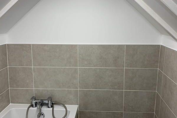 Bathroom Vent and Bath Install