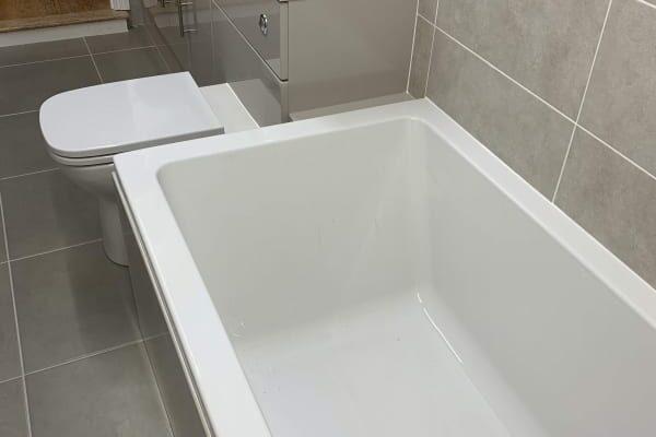 Bath Toilet & Sink Installation