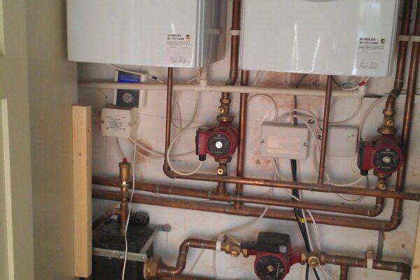 2 Valliant Boilers Installed